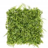 "Artificial Mixed Greenery Mat - Style A - 19"" x 19"" - 12 Pieces"