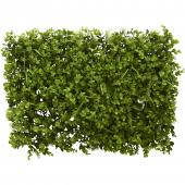 "Artificial Eucalyptus Grass Mat - 15½"" x 23½"" - 12 Pieces"