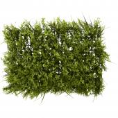 "Artificial Mixed Greenery Mat - 15½"" x 23½"" - 12 Pieces"