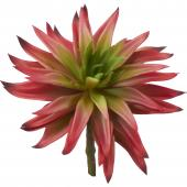 Artificial Succulents - Red - 24 Pieces