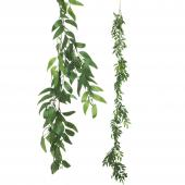 Artificial Weeping Willow Garland 72