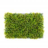 """Mixed Artificial Grass Mat 24"""""""" - 12 Panels - Green"""