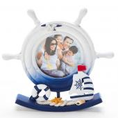 Decostar™ Ship Wheel Picture Frame - 24 Pieces