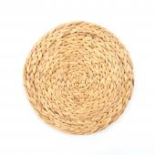 "Round Rattan Tablemat - 14½"" - 8 Pieces"