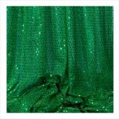 "Decostar™ Green Ecconomy Sequin Knit Fabric - 10yds x 44"" wide"
