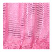 "Decostar™ Pink Ecconomy Sequin Knit Fabric - 10yds x 44"" wide"