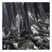 "Decostar™ Black Economy Reflective Knit Fabric - 5yds x 44"" wide"