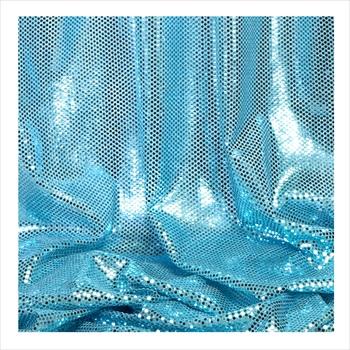 Decostar Blue Ecconomy Reflective Knit Fabric 5yds X 44 Wide