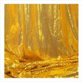 "Decostar™ Gold Ecconomy Reflective Knit Fabric - 5yds x 44"" wide"
