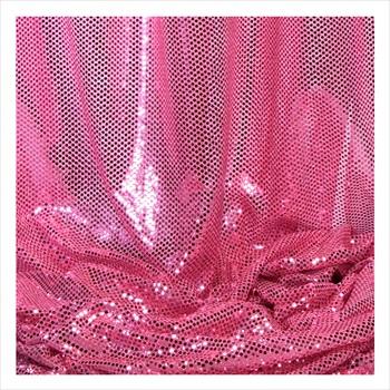 Decostar Pink Ecconomy Reflective Knit Fabric 5yds X 44 Wide