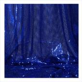 "Decostar™ Royal Blue Ecconomy Reflective Knit Fabric - 5yds x 44"" wide"
