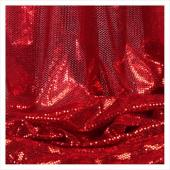 Decostar™ Red Ecconomy Reflective Knit Fabric - 5yds x 44