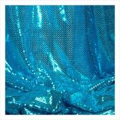 "Decostar™ Turquoise Ecconomy Reflective Knit Fabric - 5yds x 44"" wide"