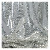Decostar™ White Ecconomy Reflective Knit Fabric - 5yds x 44