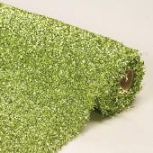 "Decostar™ Apple Green Sponge Lurex Roll - 22"" x 3yds"