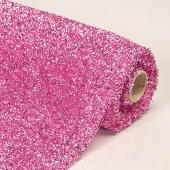"Decostar™ Pink Sponge Lurex Roll - 22"" x 3yds"