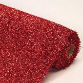"Decostar™ Red Sponge Lurex Roll - 22"" x 3yds"