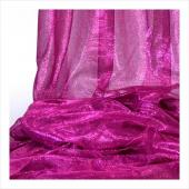 "Decostar™ Fuchsia Economy Metallic Fabric - 22"" x 10yds"
