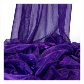 "Decostar™ Purple Ecconomy Metallic Fabric - 22"" x 10yds"