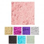 "Bulk Economy Sequin Fabric 54"" x 4yd - Many Colors!"