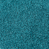 Real Teal Saxony Event Carpet - 8 Feet Wide - Select Your Length!