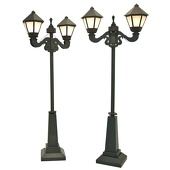 Parisian Night Life Lampposts Kit (set of 2)