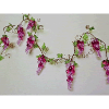 4ft Acrylic Purple Grape Garland