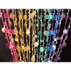 6ft Rainbow Iridescent Champagne Bubble Curtain