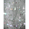 6ft Crystal Iridescent Champagne Bubble Curtain