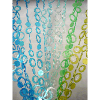 6ft Blue Green Hip Circle Curtain