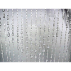 6ft Crystal Non-Iridescent Raindrop Curtain