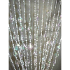 6ft Crystal Teardrop Beaded Curtain