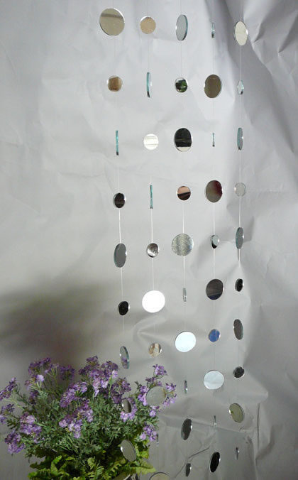 Mirrored Curtain Feng Shui Curtain Event Decor Direct