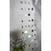 6ft Feng Shui Round Mirrored Curtain