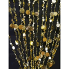 6ft Gold Iridescent Champagne Bubble Curtain