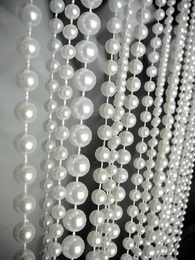 9ft Pearl Multi Ball Chain Curtain