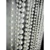 6ft Pearl Multi Ball Chain Curtain