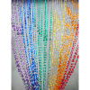 6ft Rainbow Iridescent Raindrop Curtain