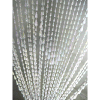 6ft White Iridescent Raindrop Curtain
