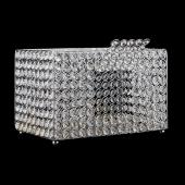 "Decostar™ Crystal Money Box 13¼""  - Silver"