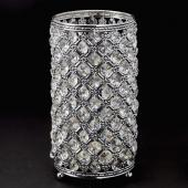 Decostar™ Vintage Crystal Candle Holder Centerpiece 9 ½