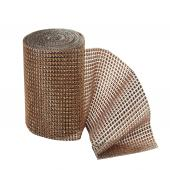 "DECOSTAR™ 4 5/8in Diamond Mesh Roll - 4 5/8"" Gold"