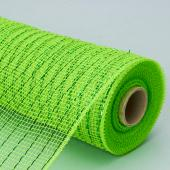 "Decostar™ Decorative Lined Poly Mesh Roll - MANY COLOR OPTIONS - 10 Rolls - 21"" x 10 YARDS"