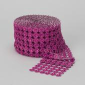 Decostar™ Diamond Mesh - Fuchsia
