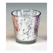 Decostar™ Decorative Mercury, Metallic Glass Votive 2½