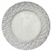 Glass Charger Plate 13