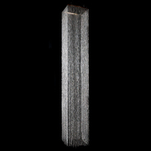 DecoStar™ 14ft Square Crystal Column - STUNNING!