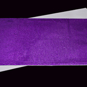 "DISCONTINUED - DecoStar™ Adhesive Rhinestone Mesh Sticker Sheets - 20"" - Purple"