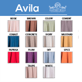 Avila - 100% Polyester - By The Yard - 110