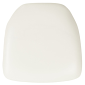 DecoStar™ Hard White Vinyl Cushion for Chiavari EnvyChair™